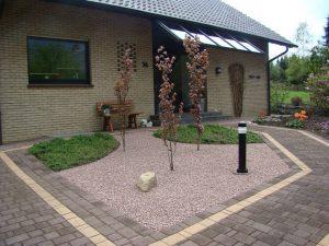 Irischer Granit Hauseingang