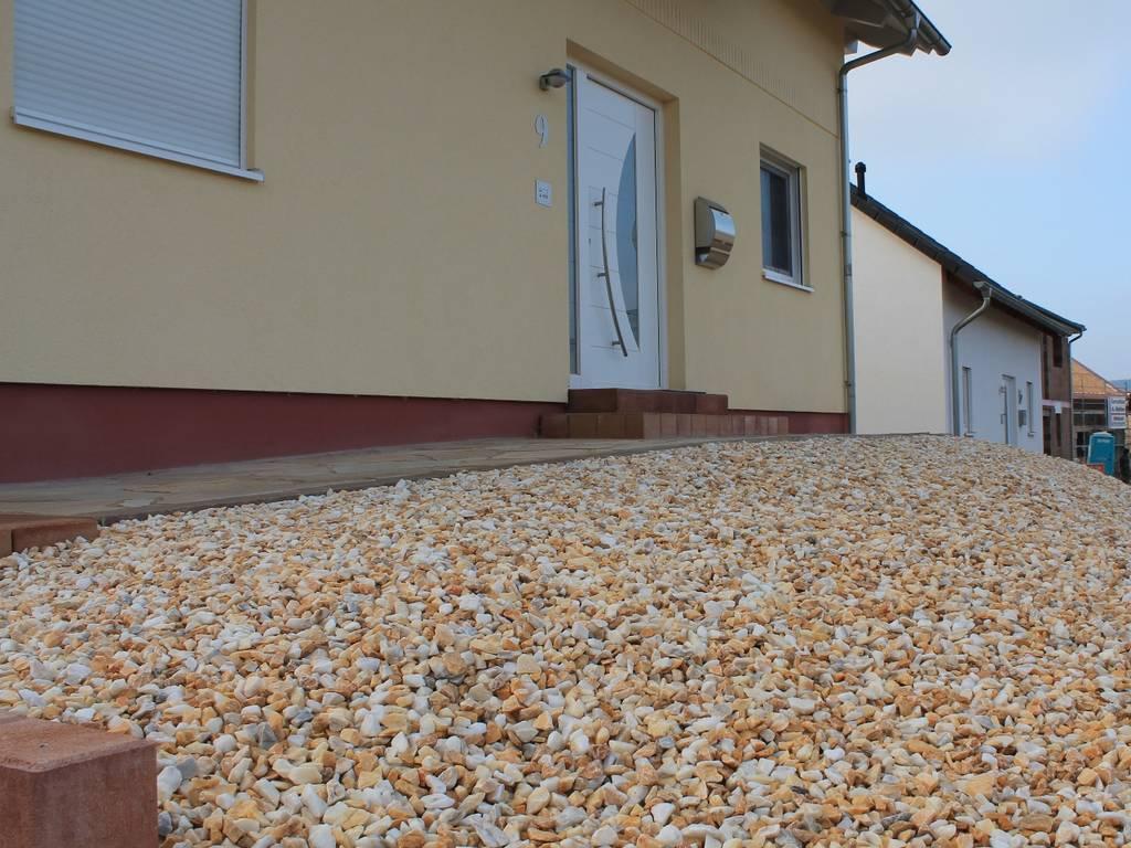Kristall gelb 8 16 mm steinakzente for Zierkies vorgarten