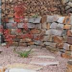 Mauersteine bunt