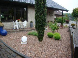 Vorgarten Schottischer Granit