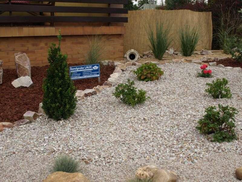 Quarzit bunt 5 8 mm steinakzente for Gartengestaltung 20 qm