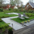 Gartengestaltung - Stein Gehweg aus Kristall Blau