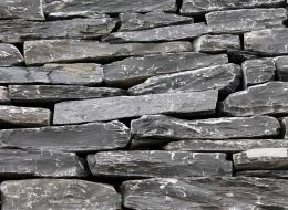 Mauersteine Black Slate (Schiefer)-Backnang