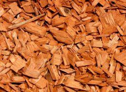 Holzhackschnitzel orange-Püttlingen