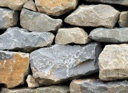 Kalksteine grau-gelb-Merzig