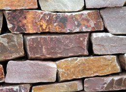 Mauersteine quarzit bunt-Pirmasens