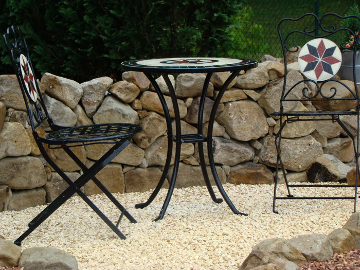 Sandstein gelb steinakzente for Gartengestaltung 100 qm