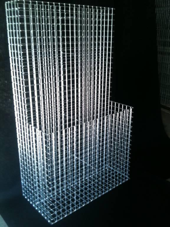 Gabionen L Form gabionen stützwand « steinakzente