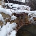 Steine im Winter
