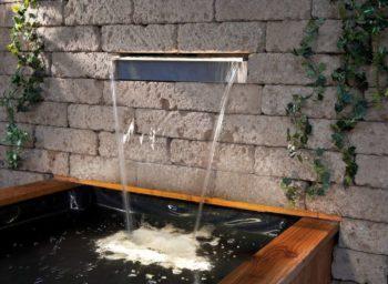 Wasserkante für Becken