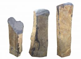 Basalt Stelen-Dreieich