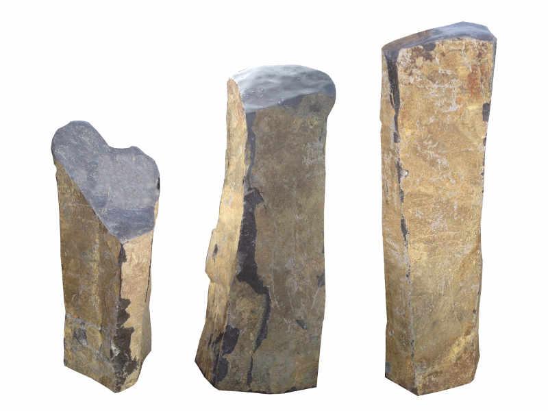 Basalt Stelen