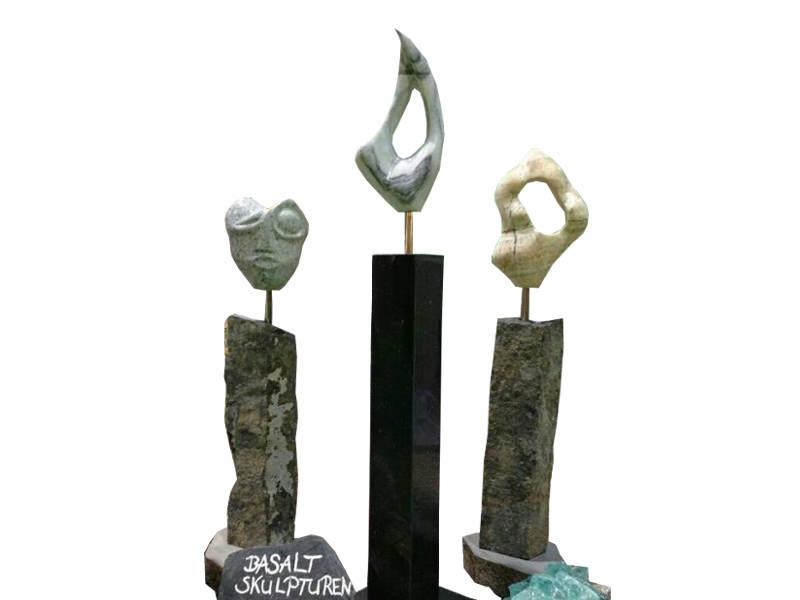 Basaltskulpturen
