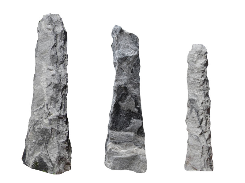 Cloudy Grey Monolithen