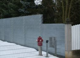 Lärmschutz Gabione-Rüsselsheim am Main
