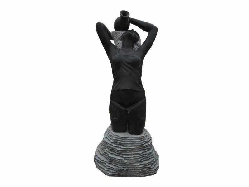 Statue Schwarz