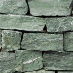 Grünschiefer Mauersteine