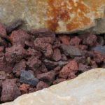 Ziersplitt Lava Ambiente