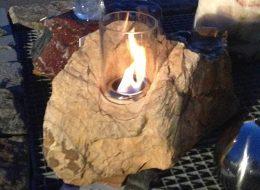 Feuer und Wasser Pinie