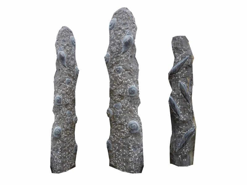 Fossil Säulen