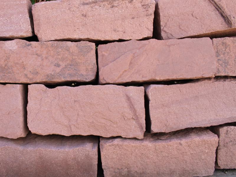 Sandstein ruby Mauerstein